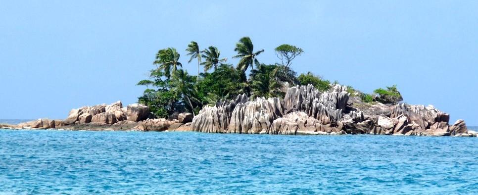 Wyspa na Seszelach