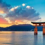 Great floating gate (O-Torii) in Miyajima